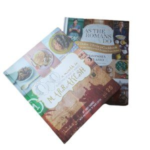 2 cookbooks a month in marrakesh, as the romans do